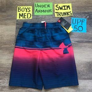 50% OFF Under Armour Boys Med Swim Trunks